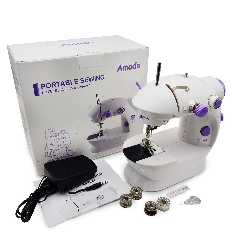 Amazon Portable Sewing Amado Portable Sewing Double Speed Mini