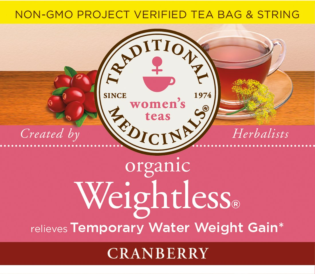 Traditional Medicinals Organic Weightless Cranberry Women's Tea, 16 Tea Bags (Pack of 6) by Traditional Medicinals (Image #7)