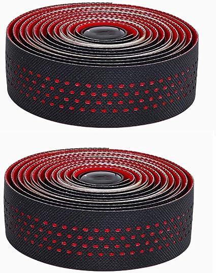 2Pcs//Set Bicycle Bar Tape Road Bike Drop Handlebar Tape EVA Wrap Cycle Nonslip