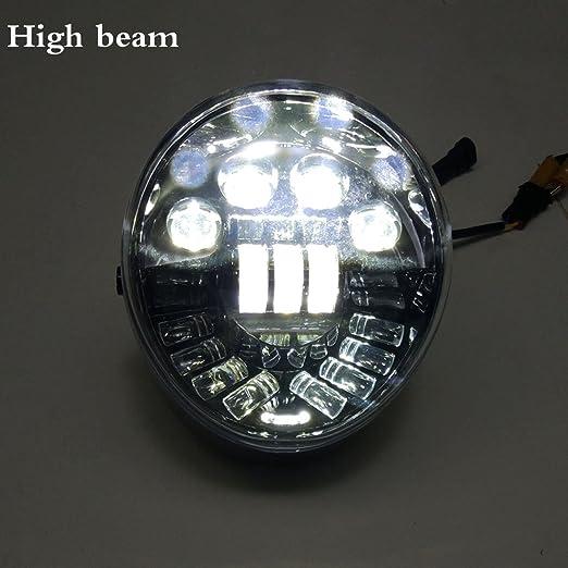 2x H11 H9 LED Headlight Bulb For Harley Street Rod VRSCR 2006 2007 High Low Beam