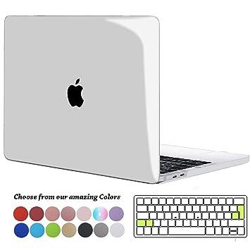 TECOOL Funda para MacBook Pro 15 2016 2017 2018 2019, Cubierta Plástico Dura Case Carcasa & Tapa del Teclado para MacBook Pro 15 Pulgadas con Touch ...