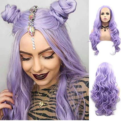 Drag Queen - Peluca de pelo largo para mujer, pelo sintético con ...