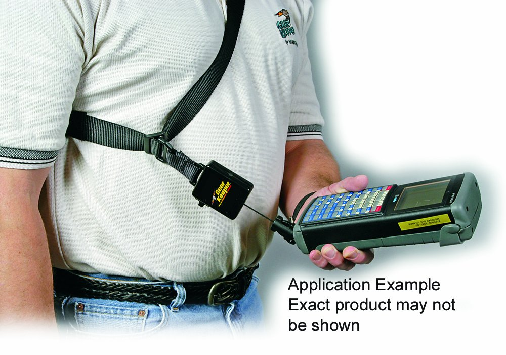 Gear Keeper TL1-1012 Adjustable Shoulder Strap with RT3 Q//C-II End Retractor 12 oz Force 42 Extension
