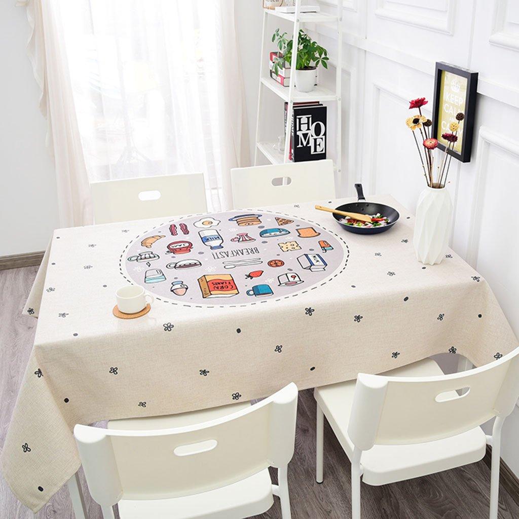 moda classica Tovaglia Biancheria da Cucina Lino, Semplice da tavolino da tavolino tavolino tavolino Rettangolare Antiquariato tavola più Spessa (colore   4 , Dimensioni   140  140CM)  trova il tuo preferito qui