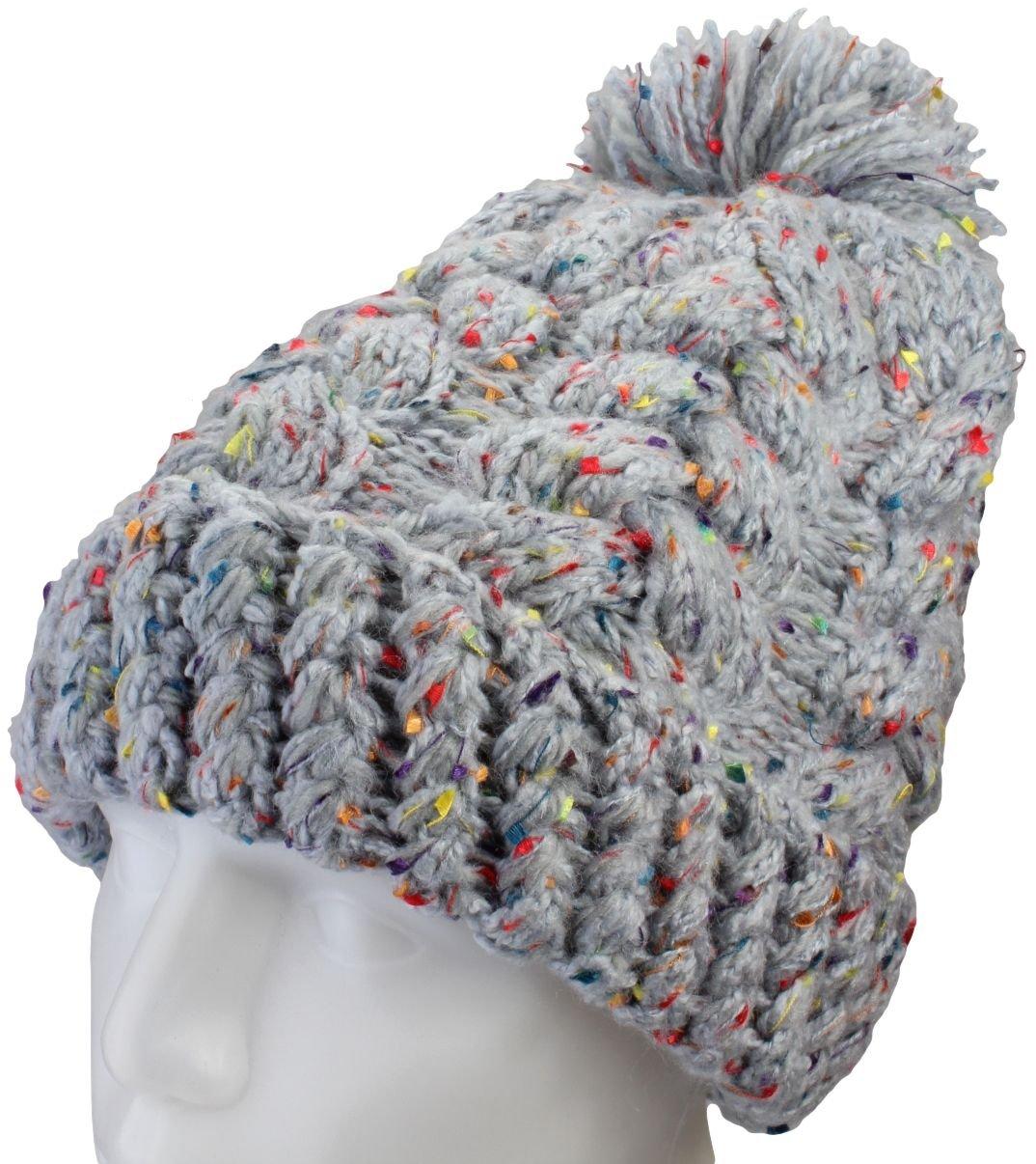 AlexFlittner Designs Gorra Invernal para Mujeres con Puntos/Gorra ...
