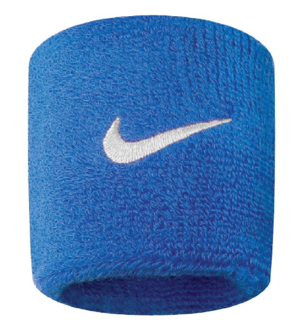 Nike Swoosh Wristbands (Royal Blue/White, Osfm)
