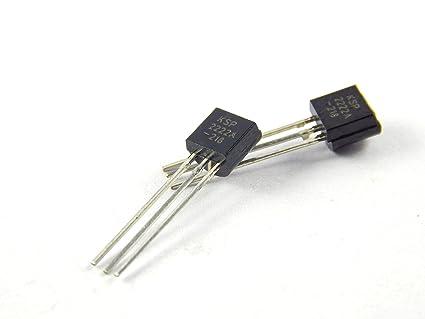 Robo India 2N222 2N222 - Npn - Transistor, 10 Pieces