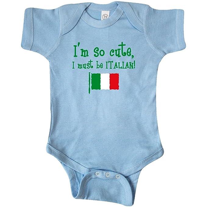 Amazon.com: inktastic Unisex Baby So Cute Italiano Infant ...