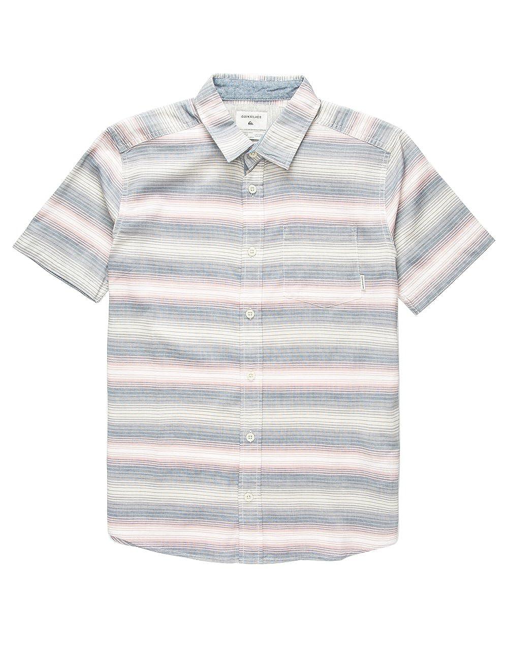 Quiksilver Big Boys Burnin Long Sleeve Shirt