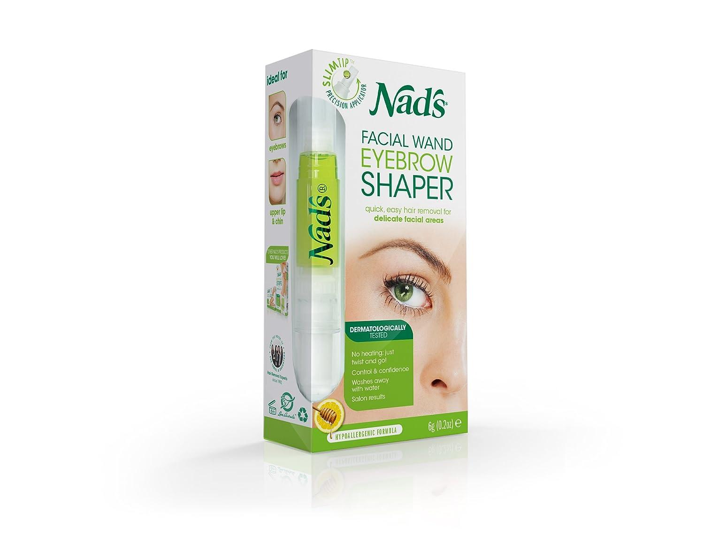 Amazon Nads Eyebrow Shaper Facial Wand Eyebrow Waxing Kit