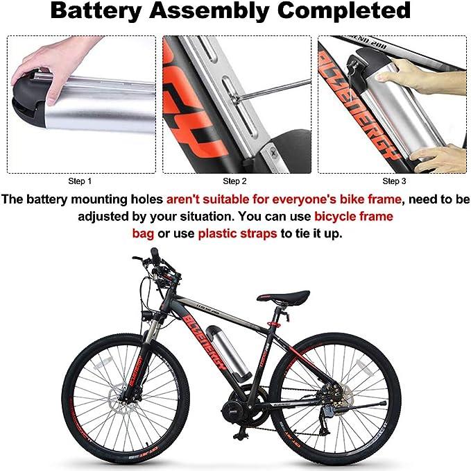 Junstar V/élo /électrique Rechargeable Hailong 36 V 17.4//10 Ah Lithium Batterie Li-ION Bouilloire Batterie//Samsung 29E cellules avec Chargeur avec Prise USB
