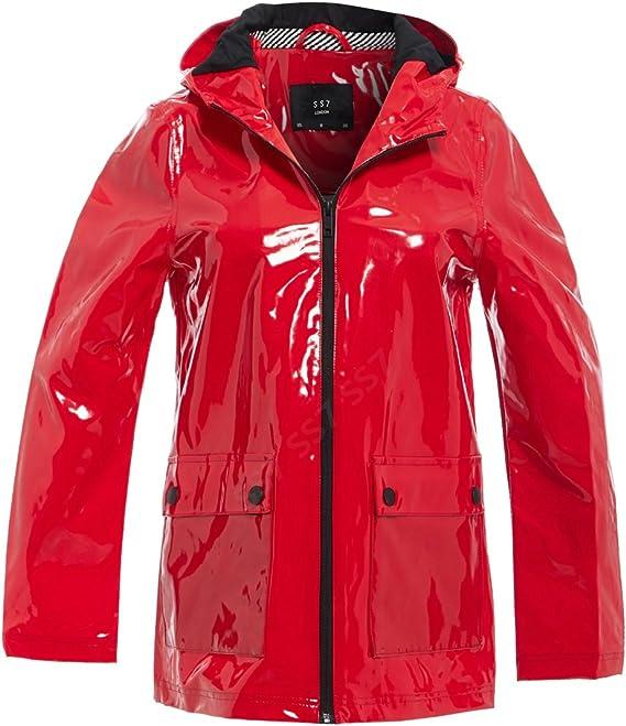 BHS Ladies Water Proof Mac Jacket Coat Raincoat Rain Mac Beige Black Blue 8-22