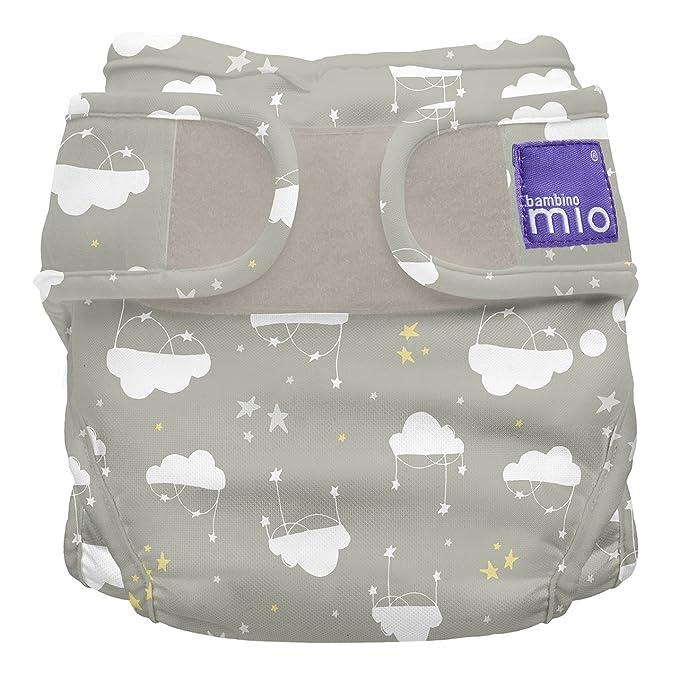 9kg+ taille 2 Bambino Mio blanc miosoft culotte de protection
