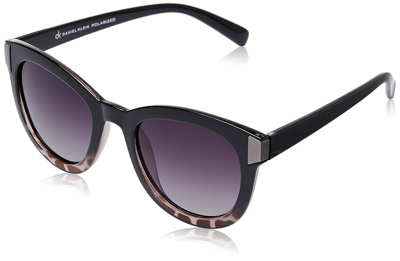 8ea6d5814155 Daniel Klein Polarized Cat Eye Women's Sunglasses -  (DK4043-COL4 45 Gradient Smoke): Amazon.in: Clothing & Accessories