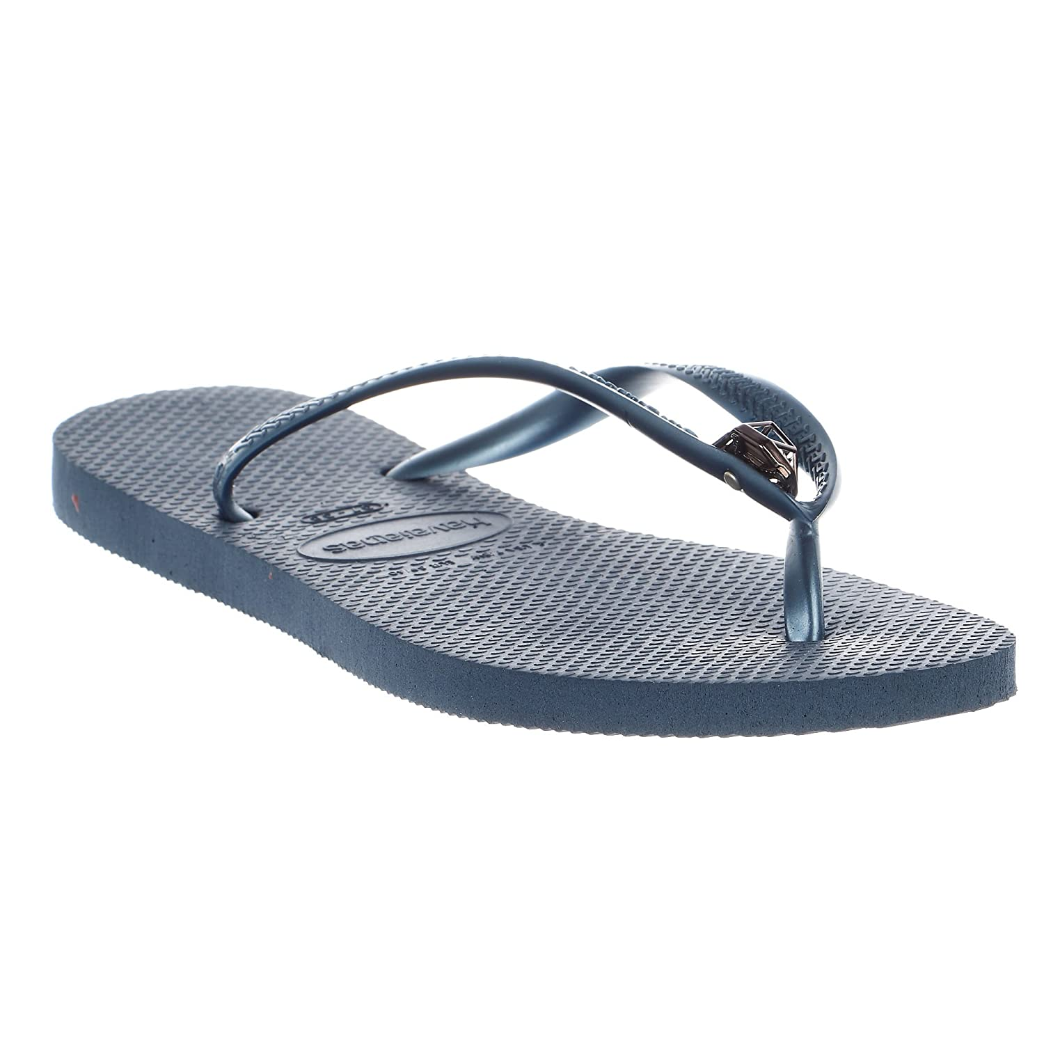 Havaianas Women Slim Diamond Sandals Flip-Flop Indigo/Blue (37-38 M Bra) r8wdj
