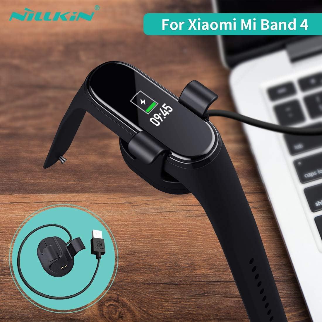 NILLKIN Cable Cargador para Xiaomi Mi Band 4 Miband 4 para xiaomi mi Band 4 Versión Global Cargador Adaptador USB para xiaomi Band 4