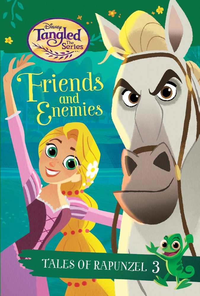 Download Friends And Enemies (Tales of Rapunzel #3) (Turtleback School & Library Binding Edition) (Disney Tangled the Series: Tales of Rapunzel) pdf