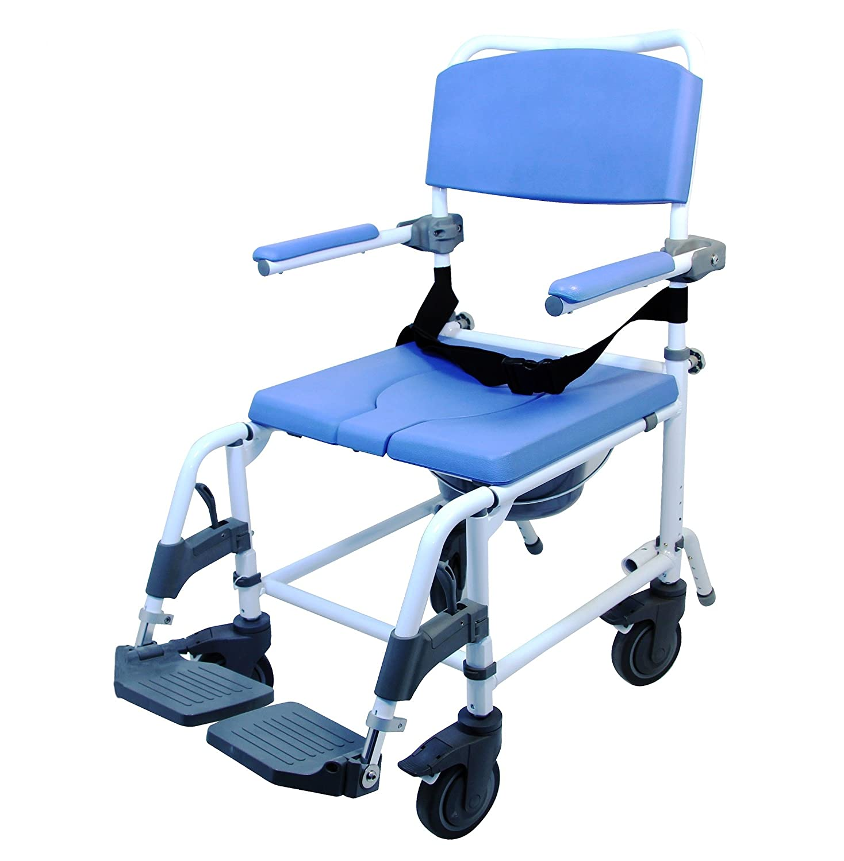 Amazon.com: Petite silla de ruedas para ducha (Asiento ...