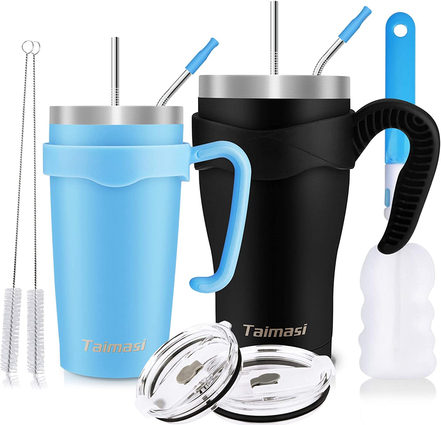 hot beverage. office home Mencom coffee tumbler stainless steel tumbler with lids and straw school-suitable for cold drinks Vacuum insulated wine coffee tumbler cup for private car