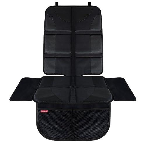 HerzensKind Premium Autositzauflage, der perfekte Schutz für Ihre Autositze, Kindersitzunterlage für Textil- und Ledersitze, ISOfix geeignet