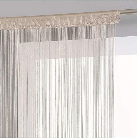 largeur 120 cm Rideau fil Lin