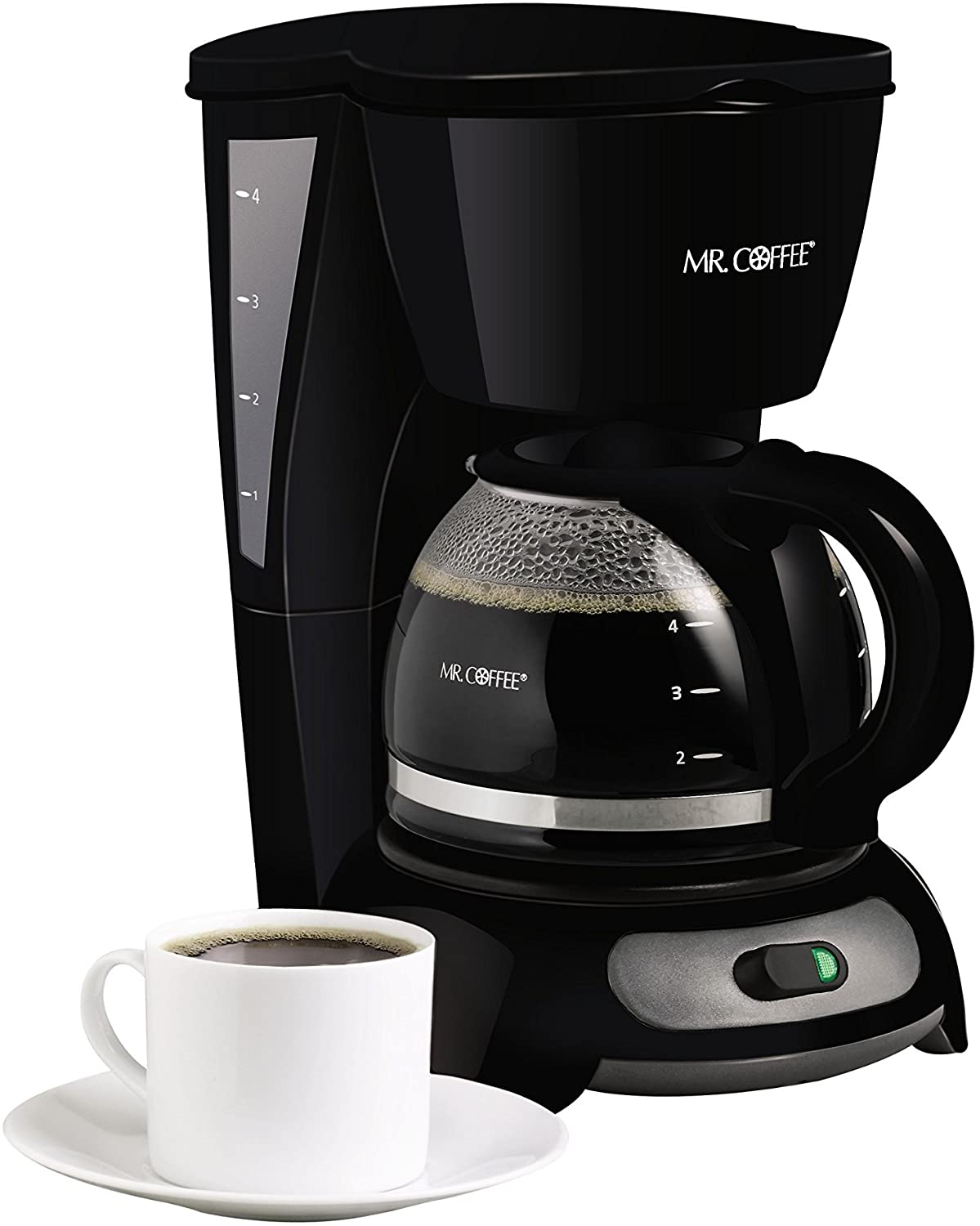 MR. COFFEE Four Cup Switch Coffee Maker