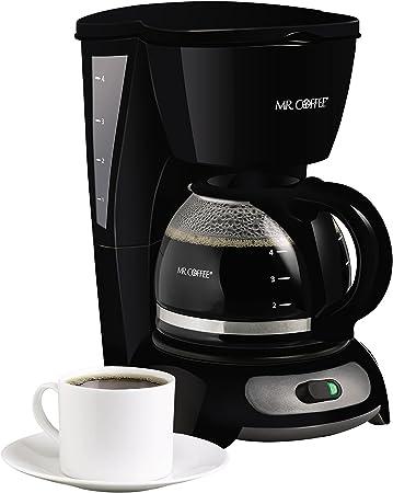 Mr Coffee 4 Cup Switch Coffee Maker Black Dri