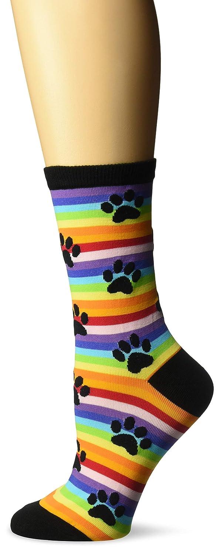 K Bell Socks Womens Bull Dog Crew