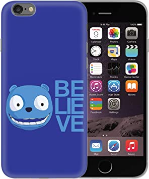 Black Mirror Believe Blue Bear_BEN0953 Protective Phone Mobile Smartphone Case Funda Fundas Carcasa Cover Hard Plastic For iPhone X XS Funny Regalo Christmas: Amazon.es: Electrónica