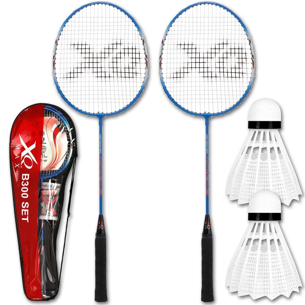 TW24 Federball - Federballset - Badmintonset - Badminton Schlä ger und Ball Set mit Modellauswahl (B300)