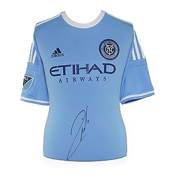 Andrea Pirlo Firmado ciudad de Nueva York 2015 camiseta de fútbol