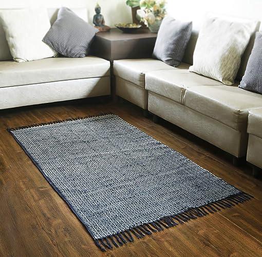 Amazon Area Carpet Rug Printed Tribal Design Cotton Floor Mat