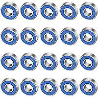 CODIRATO 20 PCS Antifricción para Monopatín 608rs, Cojinetes