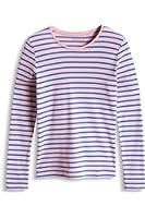 Esprit Kids 026ee5k005-Ess Stripe Ts, T-Shirt Fille