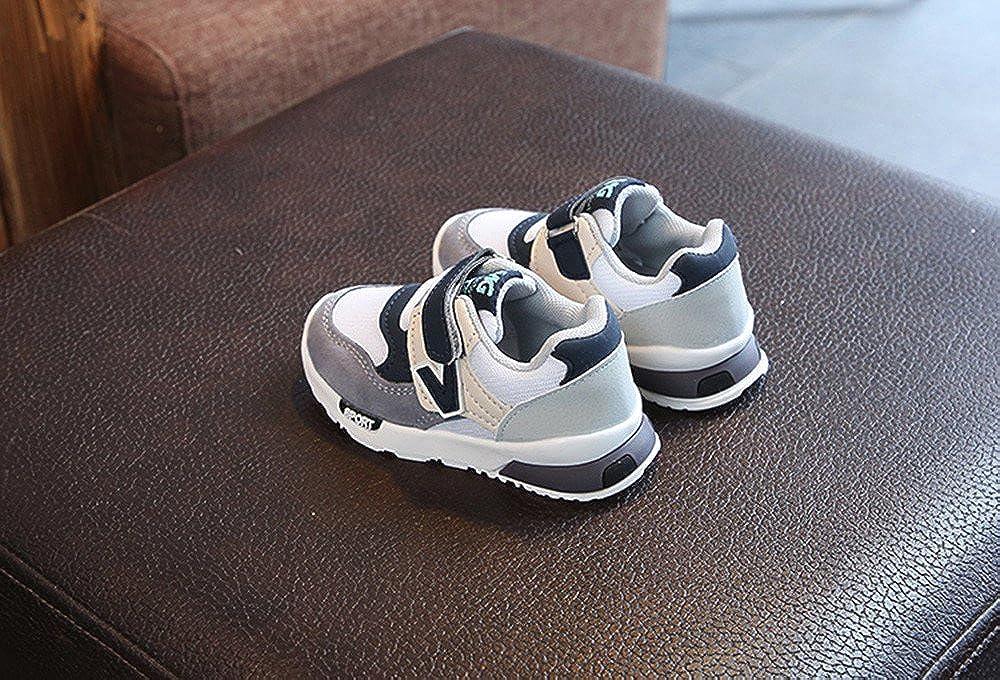 Posional Mode Basket Chaussures de Sport Mixte Enfant,Enfants Gar/çon Fille 4-4.5 Ans Chaussures de Sport D/écontract/ées Respirantes L/ég/ères Basketball Montantes Chaussure de Course Sneakers