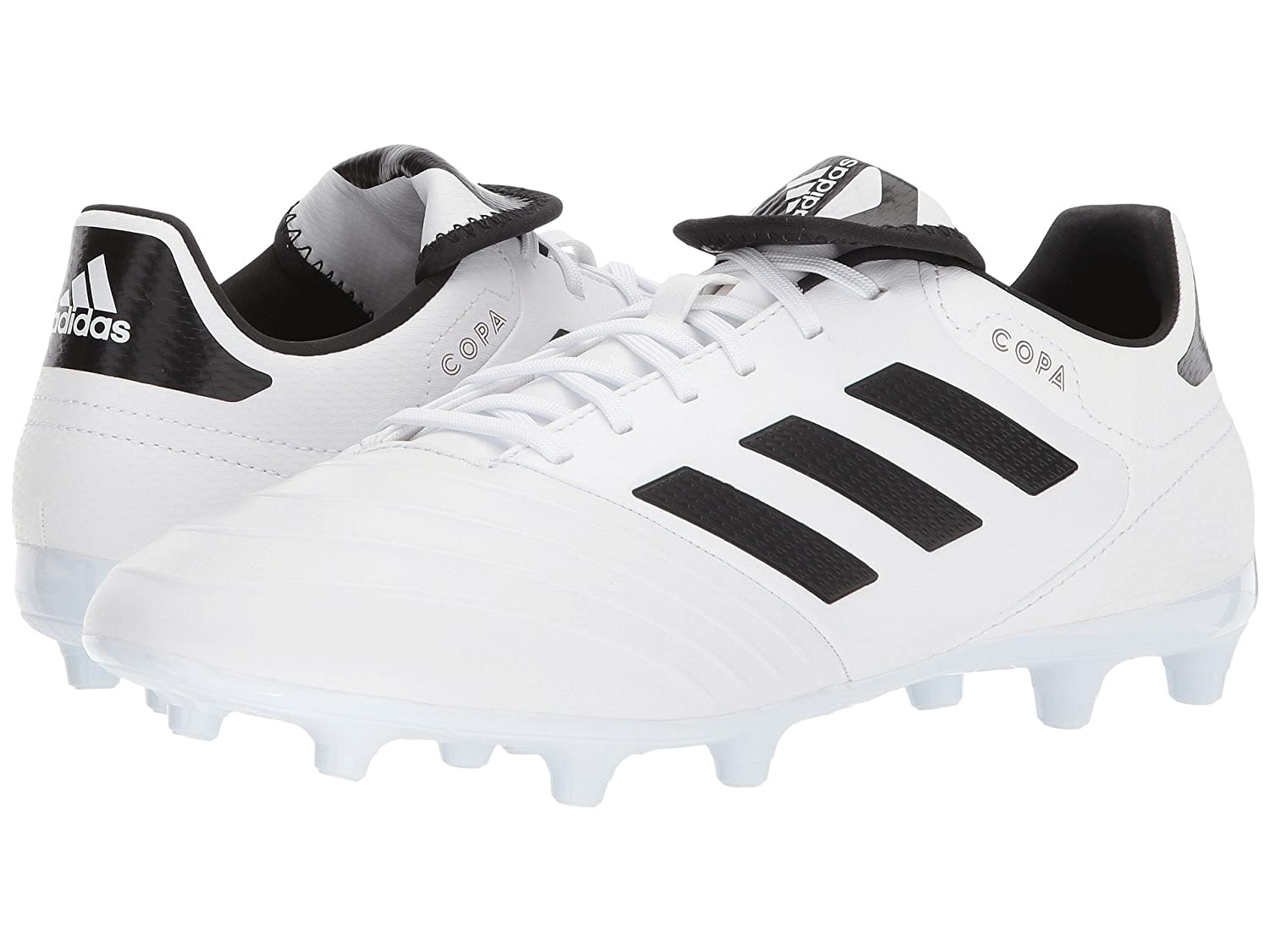 (アディダス) adidas メンズサッカーシューズ靴 Copa 18.3 FG White/Black/Tactile Gold 6.5 (24.5cm) D Medium B07BQF9YXJ