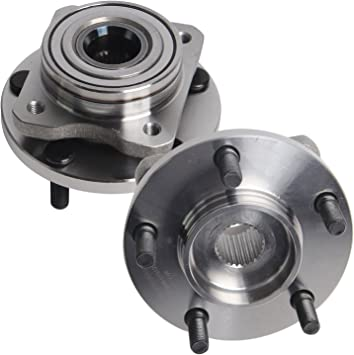 5 Lug Front Wheel Hub and Bearing Assembly Left or Right Compatible Chrysler Prowler Grand Voyager Town and Country Dodge Caravan Plymouth Voyager AUQDD 513123