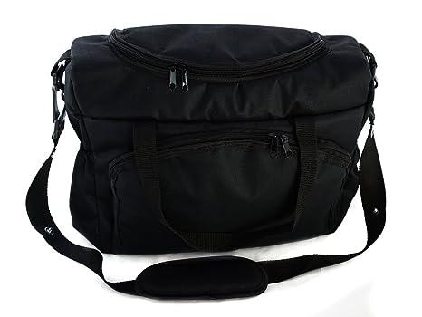Bolso Para silla de paseo organizador Bolsa para pañales Black Negro [059]