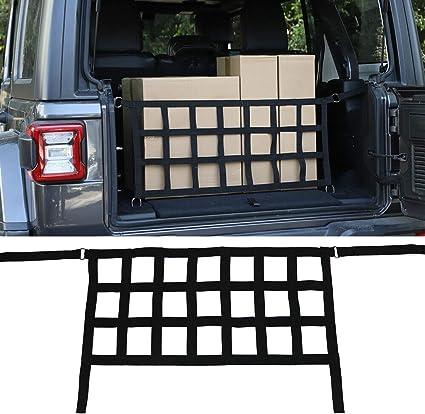Car Trunk Organizer Cargo Organizer Side Storage Bag for 2018-2020 Jeep Wrangler JL JLU Unlimited 4 Doors