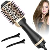 Hot Air Brush, Bongtai Hair Dryer Brush One Step Hair Dryer & Volumizer 3 in 1 Brush Blow Dryer Styler for Rotating…