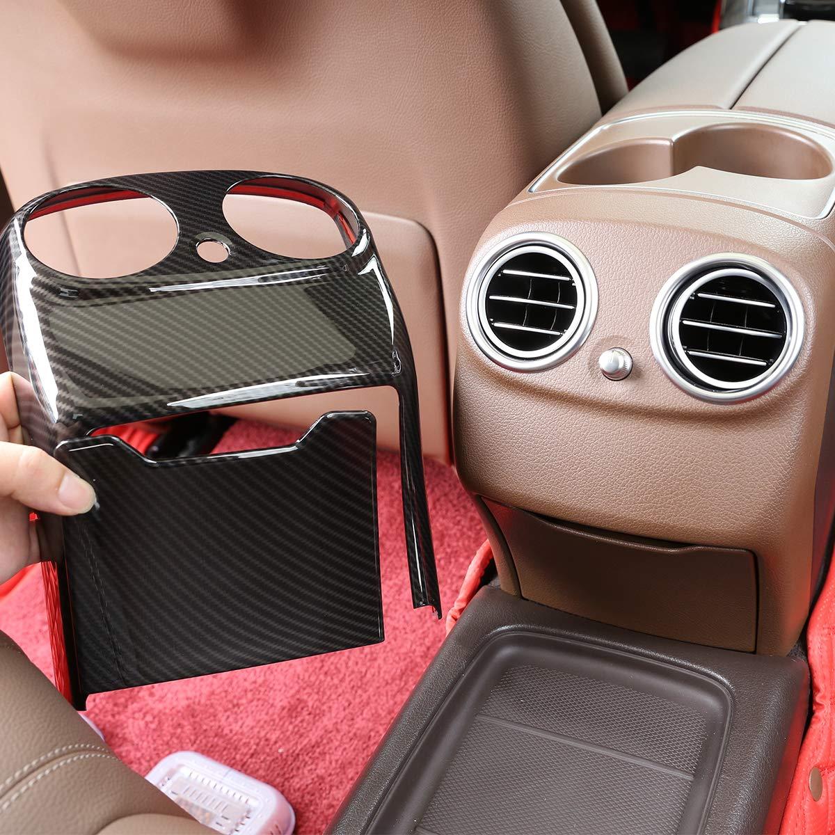 2019 ABS style fibre de carbone Garniture de sortie de climatisation arri/ère W213 Classe E 2016