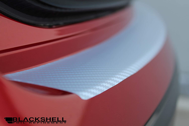 passgenaue Lackschutzfolie BLACKSHELL Ladekantenschutz inkl Sto/ßstangenschutz Steinschlagschutz Premium Rakel f/ür 6 Typ GH Facelift 2010-2012 Carbon Silber Auto Schutzfolie
