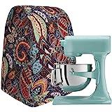 Colorful Kitchen Aid Mixer Cover, 4.5-6 Quart Stand Mixer Dust Cover, Kitchen Appliance Cloth Cover Organizer Bag, Diamond Co