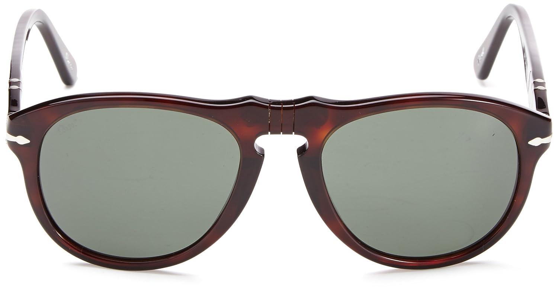 8b582e9370 Amazon.com  Persol Men s 0PO0649 Square Polarized Sunglasses  Shoes