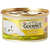 Gourmet - Gold Con Coniglio E Fegato, 85 G