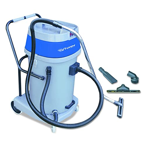 VacuMaid GV30B Wall Mounted Garage and Car Vacuum with 30 ft hose and Tools