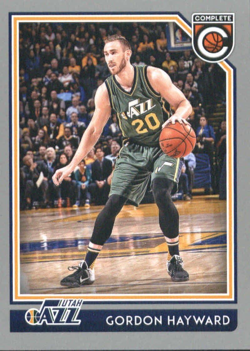 Amazon Com 2016 17 Panini Complete Basketball Silver 138 Gordon Hayward Utah Jazz Official Nba Trading Card Collectibles Fine Art