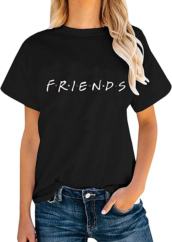 Womens Casual Shirt Summer Graphic Tees Tops