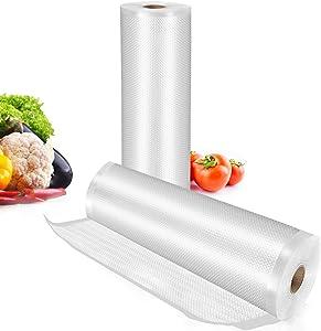 TowerTop Vacuum Sealer Bags: 2 Pack 8