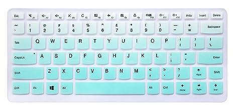Funda para teclado de silicona para Lenovo Yoga 710 de 14 ...